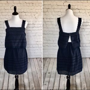 NWT Romeo & Juliet Couture Navy Summer Dress